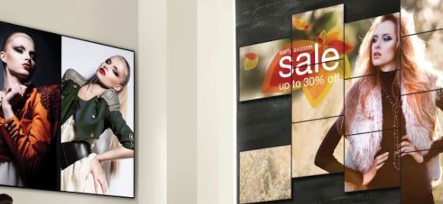 Digital signage allows companies to provide a more personal and engaging experience for customers.