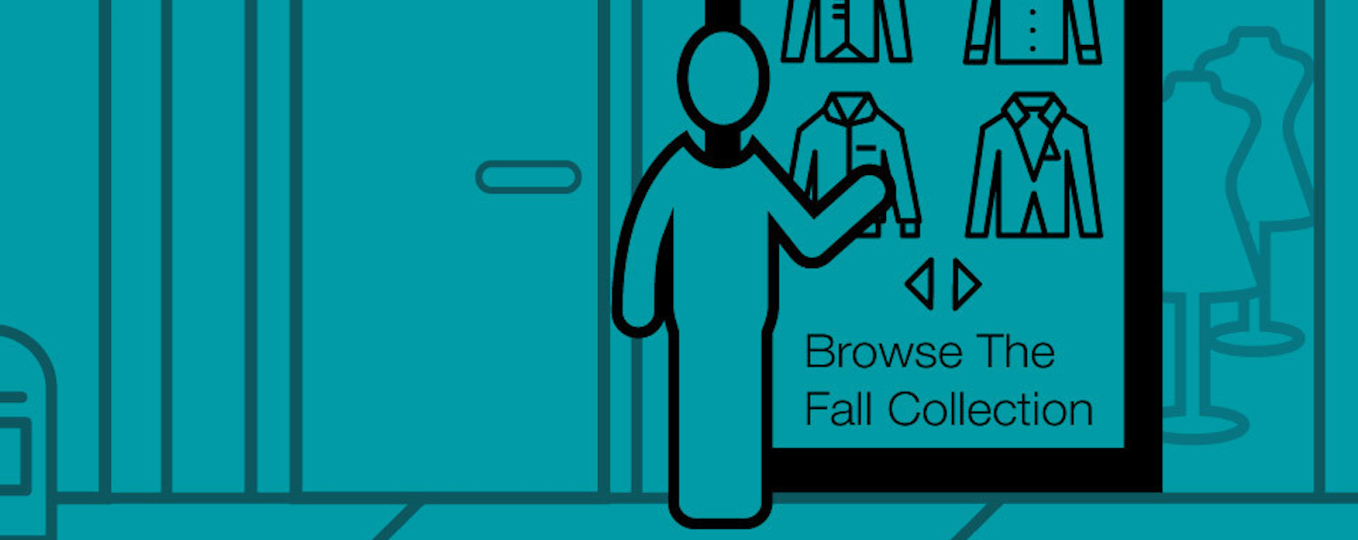 The interactive storefront offers retailers a new way to engage with customers.