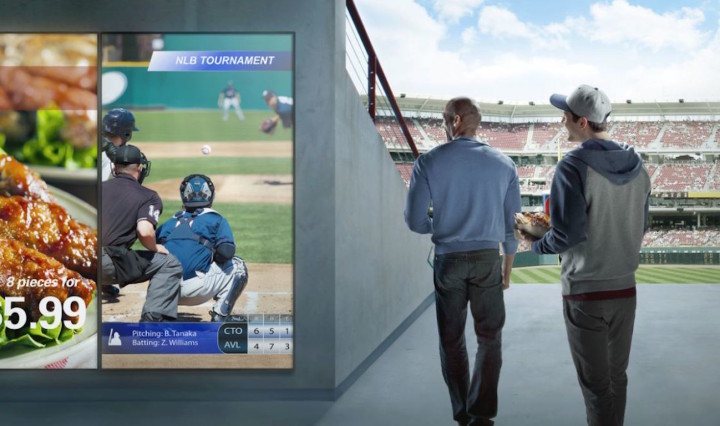 Digital signage for live sports boosts attendance by providing an immersive experience for fans.
