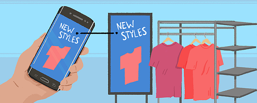 Mobile integration is the next step for digital signage.