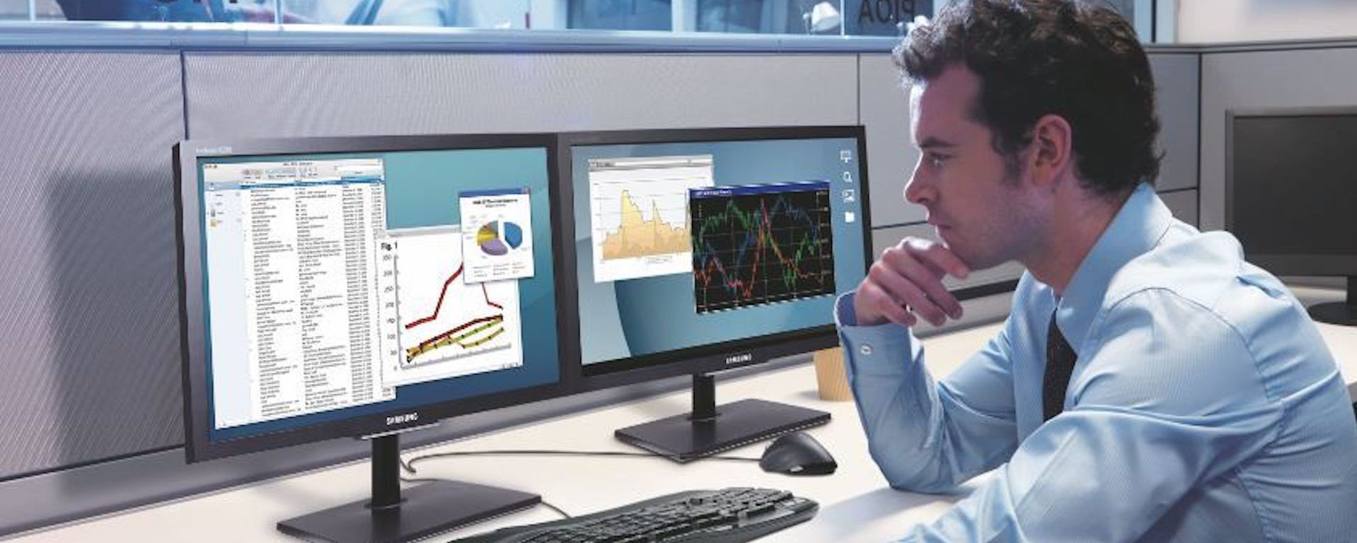 Increased productivity and improved ergonomics are a couple benefits of multiple monitors that will ultimately boost your company's bottom line.