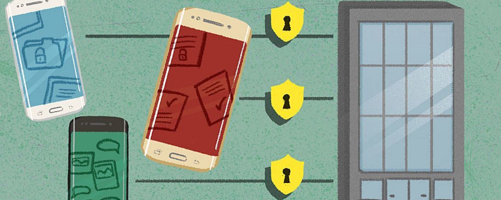 The top mobile security trends of 2015 saw everything from containerization to biometrics.