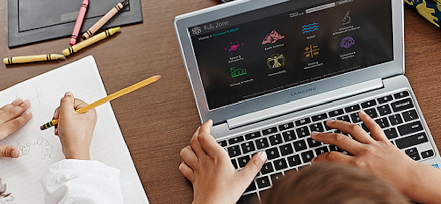 An interactive digital curriculum helps keep students engaged.