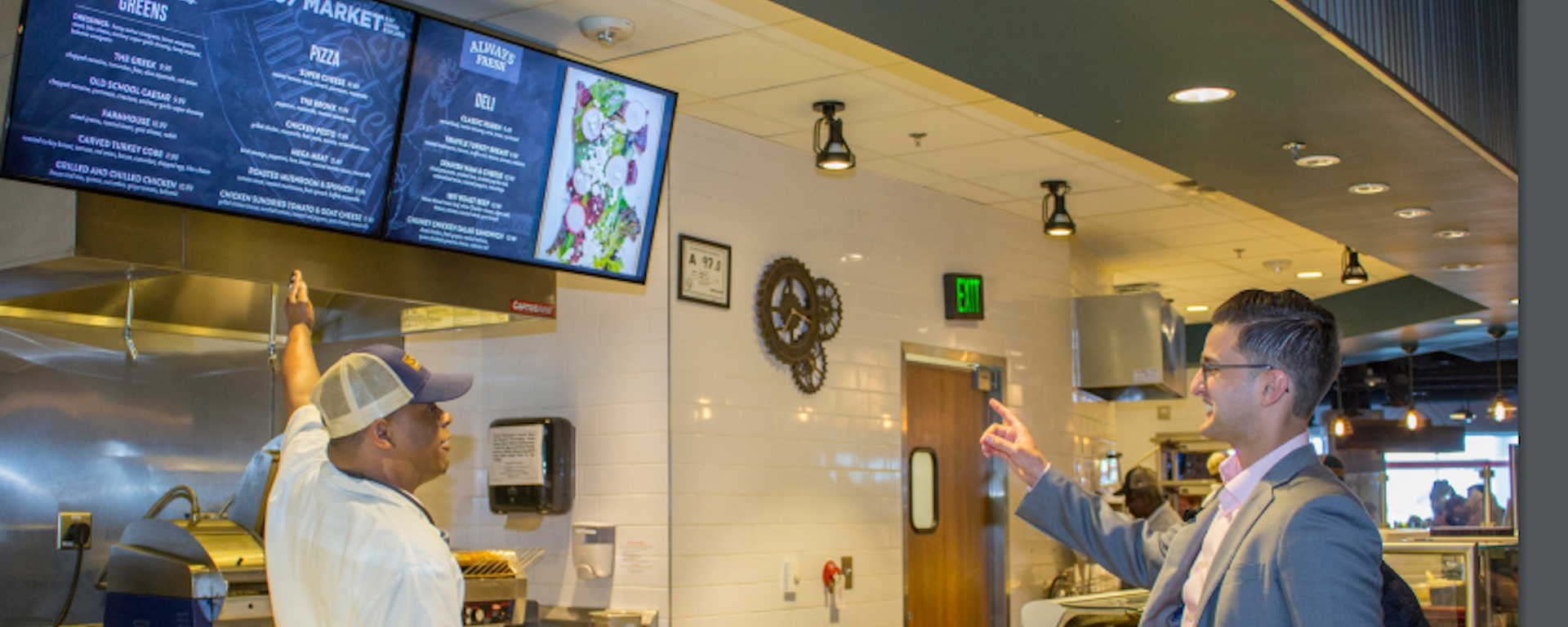 Interactive Displays Change Fortunes At Charlotte Airport Eatery