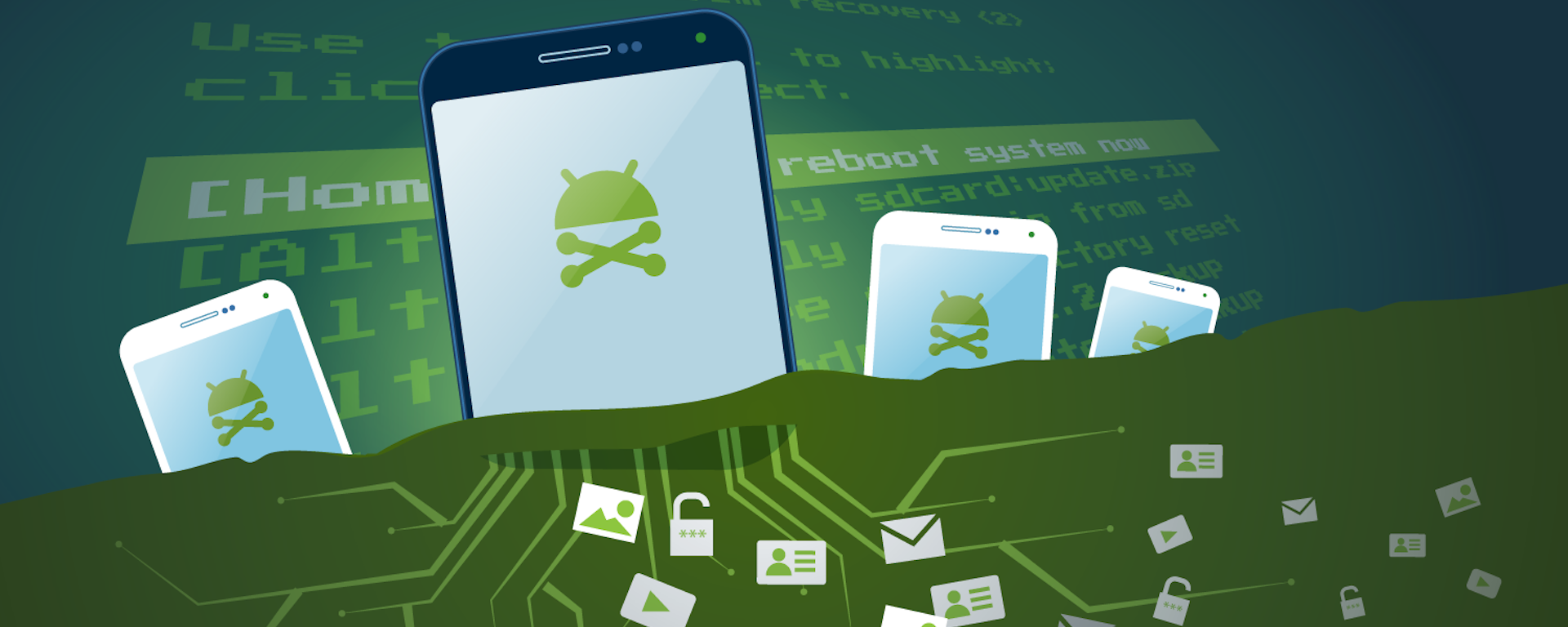 Hardware-level security to avoid risks of rooting for Android