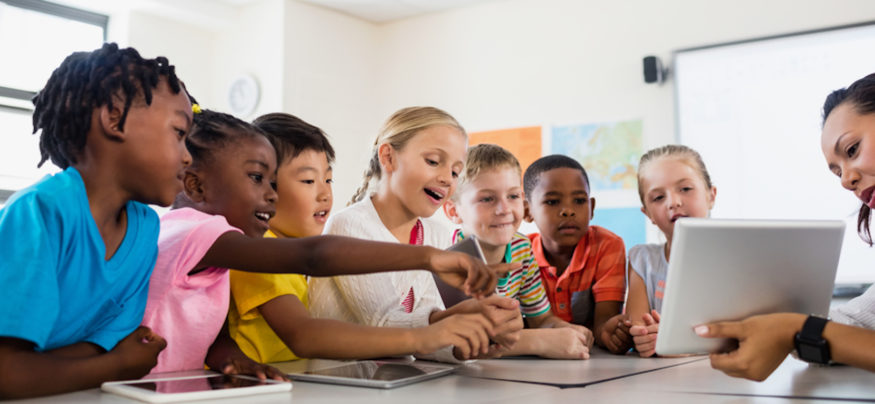 Connecting with students through technology in the classroom