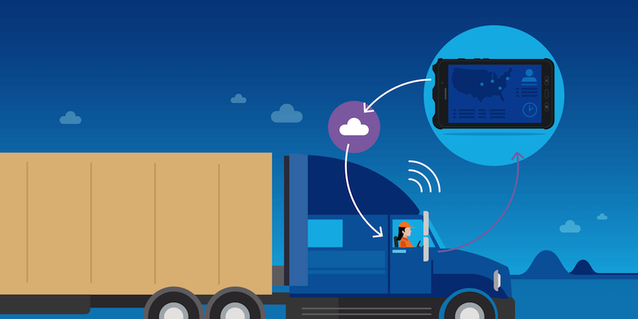 9 Ways the Connected Truck is Driving New Fleet Efficiency