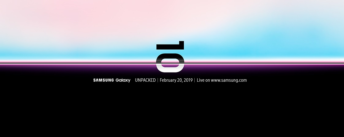 Galaxy Unpacked event invitation and livestream