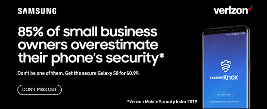 85 percent of small business owners overestimate their phone's security