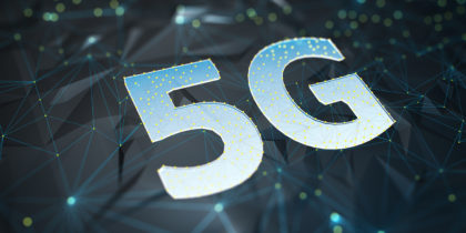 5G connectivity graphic