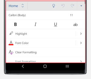 How To Use Microsoft Word On Your Galaxy Smartphone