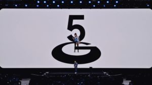 5G announcement at Samsung's Unpacked 2020 event