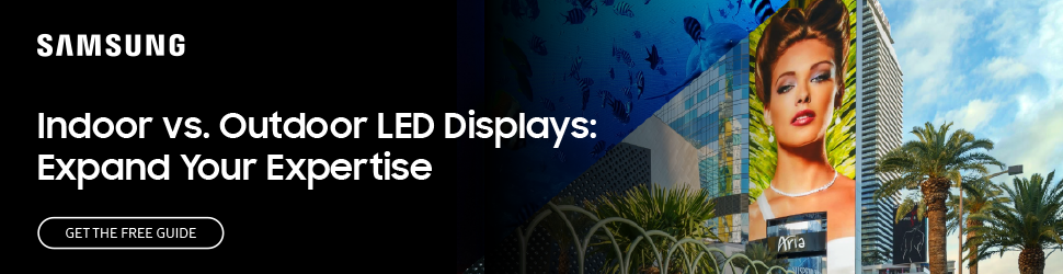 Indoor vs outdoor LED displays: Expand your expertise